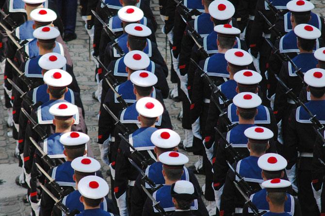 Discours d'adieu aux armes de l'amiral Joire-Noulens